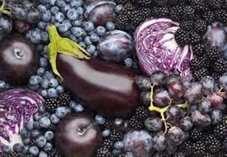 紫色食物瘦身最理想