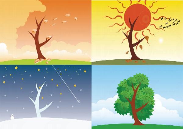 你最喜歡哪個季節呢?