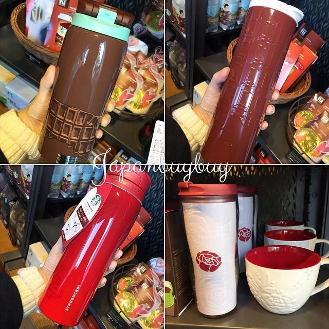 Japanbuybuy - 很想要吧!日本Starbucks 2015情人节限定版咖啡杯