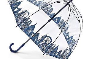 與英女皇同款!英國Fulton透明鳥籠雨傘