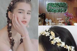 戀上花的優雅!香港手作品牌Pamycarie超美花飾製品
