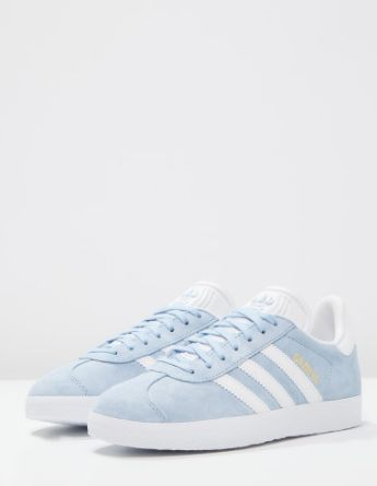8款浪漫粉藍色波鞋 The Adidas Gazelle Sky Blue