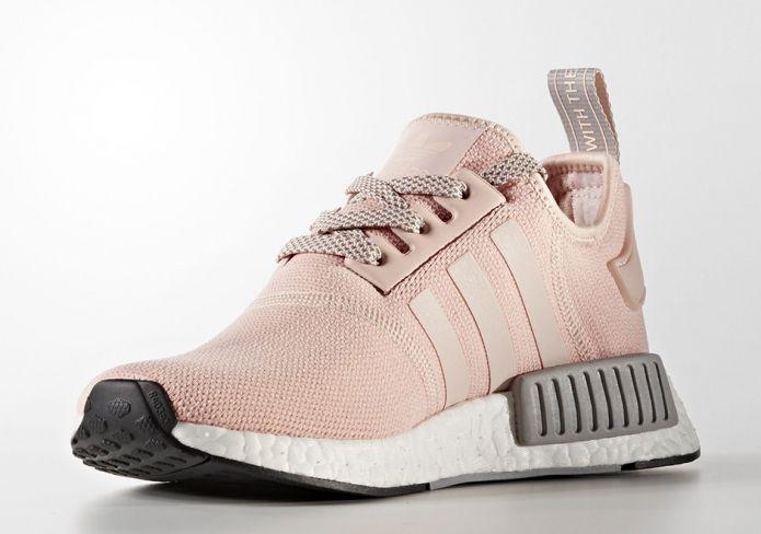 10款櫻花粉色波鞋  Adidas NMD R1