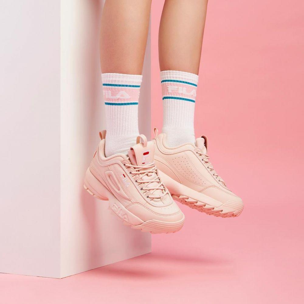 10款櫻花粉色波鞋  Fila Womens Disruptor II