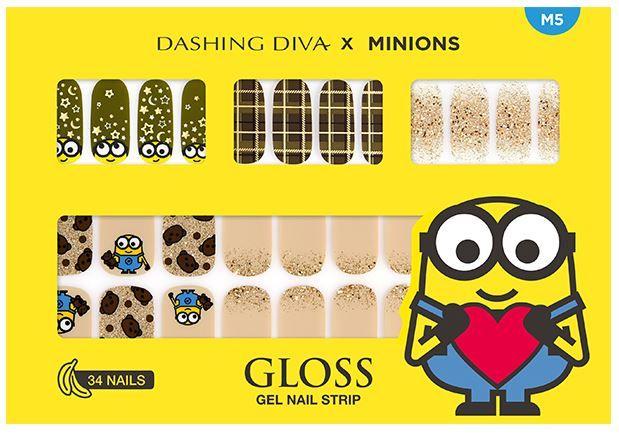 【美甲】將Bob貼在指甲!韓國DASHING DIVA推出Minions指甲貼!