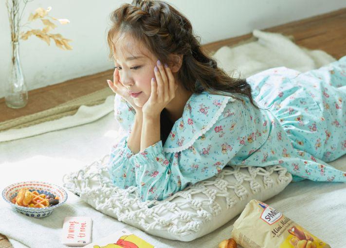 韓國Roem X 小熊維尼推出睡衣+居家服!超可愛少女風花卉印花!韓國Roem X 小熊維尼推出睡衣+居家服!超可愛少女風花卉印花!