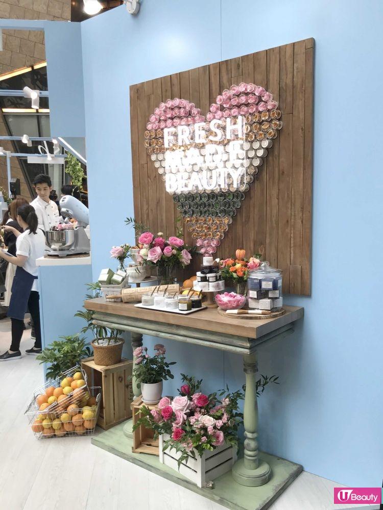 期間限定Fresh Beauty Kitchen登陸旺角!打卡位、免費禮遇率先看