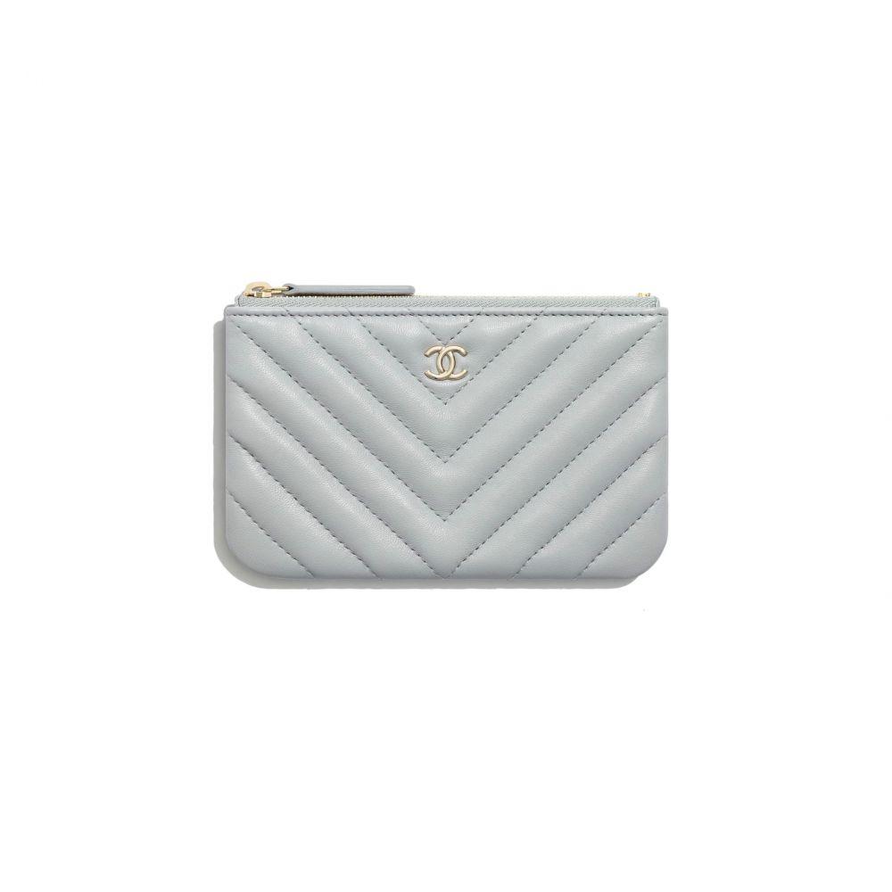 經典款迷你手提包 #淺灰色 (售價港幣HKD $3,700)