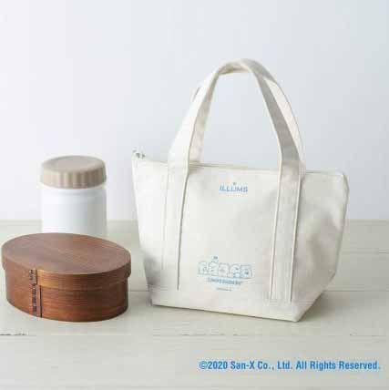 《ESSE エッセ》10月號特別版|930日元連稅|日本發售日期︰2020年9月2日| 角落生物保溫手提冰袋(29.5 x18.5 x 12.5cm),簡約純白設計,袋物印有角落生物圖案。