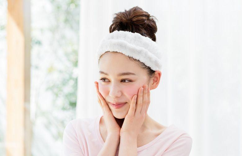 7. 再進行日常保養程序,為皮膚保濕。