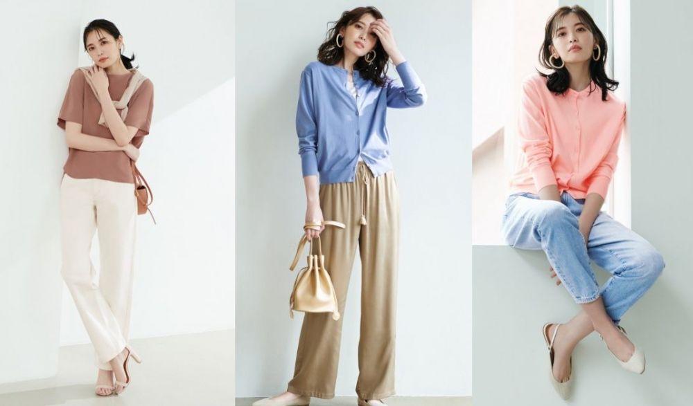 女裝 抗 UV SUPIMA COTTON 圓領針織外套 HK$149  抗 UV功能薄外套,室內室外兼用,採用 100% SUPIMA 棉物料。共9色選擇。