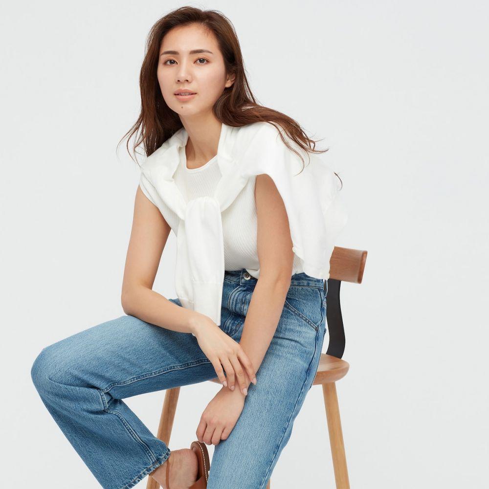 羅紋法式袖針織衫