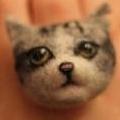 治療系飾物!12蚊店買得到的羊毛氈動物戒指DIY材料