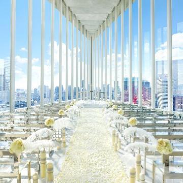 天空の浪漫!小型婚禮必選-日本絕美「空中教堂」