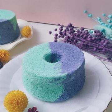 蛋糕都有仙氣? 台灣人氣Pantone雙色蛋糕夢幻至極!