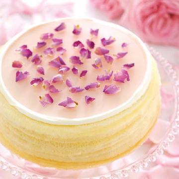 香港獨家發售!Lady M首推「玫瑰千層蛋糕」