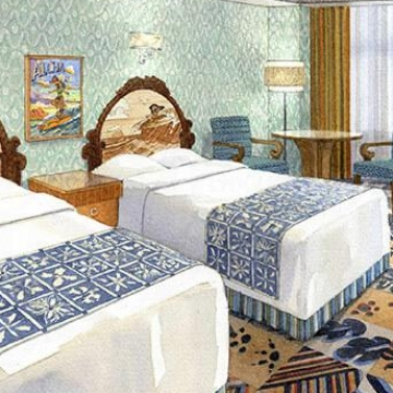 迪士尼粉絲留意!「鋼牙與大鼻」、「史迪仔」主題客房出爐