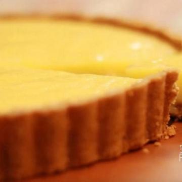 超簡易清新開胃甜品─免焗檸檬撻!