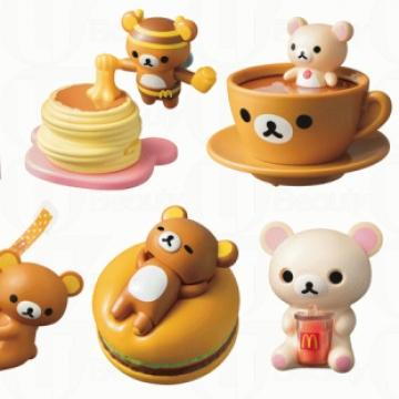 鬆弛熊出擊!聯乘日本麥當勞推限定玩具