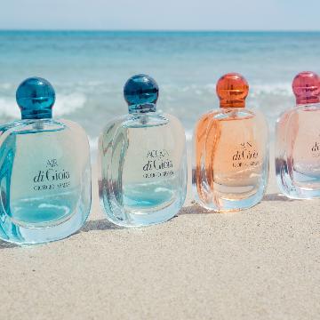 將粉紅彩霞收入瓶中!Giorgio Armani 「彩虹香水」新成員