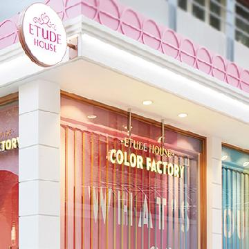 彩色注目!韓國Etude House新開color factory