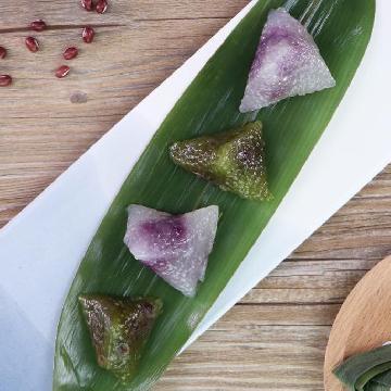 迷你水晶糭二重奏!抹茶紅豆及紫薯味 食譜
