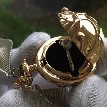 麻瓜想要吧!「金探子」戒指盒