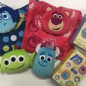 7-Eleven x Pixar限定!4款大頭公仔環保袋