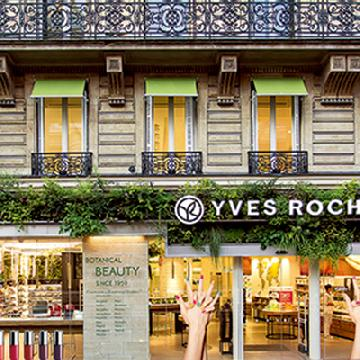 法國No.1美容品牌Yves Rocher
