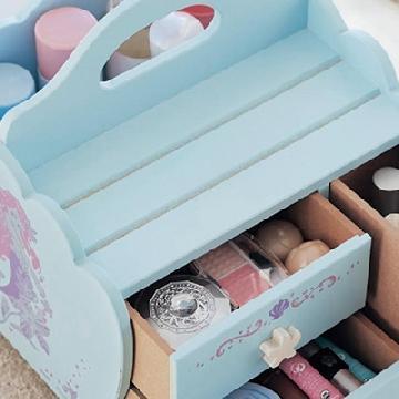 收納小幫手!日本迪士尼公主系列收納箱