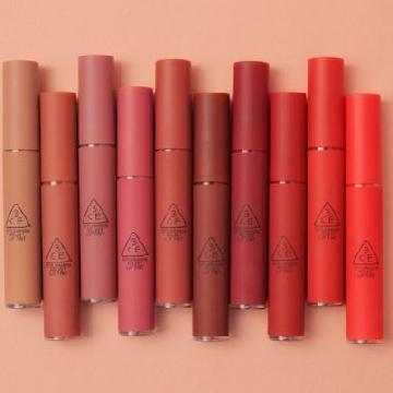用唇色來迎接秋冬!韓國3CE推出10色絲絨染唇液