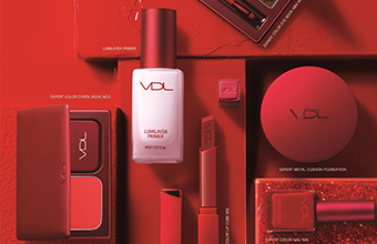 VDL 全新 The Red Collection 聖誕限量彩妝