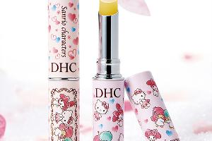 Sanrio Characters包裝!日本DHC潤唇膏推新裝