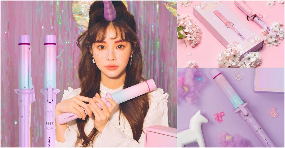 韓國女生熱捧捲髮神器!3款VODANA超粉嫩捲髮棒推介