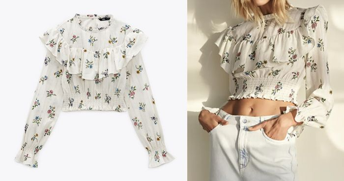 【小清新穿搭提案】日本女生话题ZARA 春季单品15选!甜美减龄蝴蝶结衬衫、花卉连身裙!