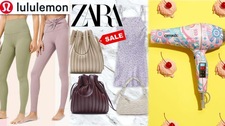 【每周優惠】本周6大精選品牌減價優惠!Zara/Nike/lululemon/amika低至半價!