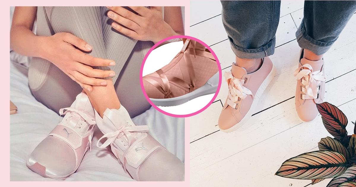 【波鞋】結合芭蕾舞鞋元素!?精選5對粉色系蝴蝶