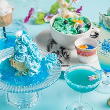 走入愛麗絲夢幻世界!東京主題餐廳夏日限定繽紛餐點