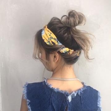 固定髮帶有妙法!半分鐘學日系丸子頭