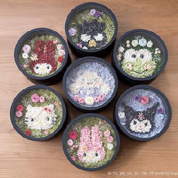 變身浪漫花盒!Sanrio官方授權保鮮花盒