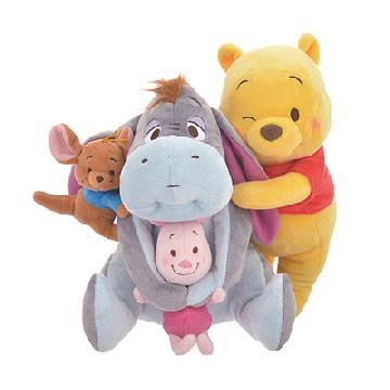 可愛FLUFFY BEAR!日本迪士尼推小熊維尼精品