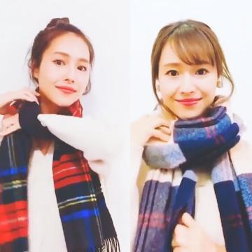 日本女生教你!2種易襯頸巾綁法