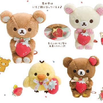 士多啤梨派對!日本San-x 新推鬆弛熊「Strawberry Party」精品