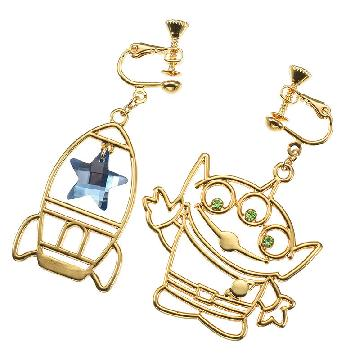 無耳洞女生留意!日本Disney Store推多款卡通耳夾