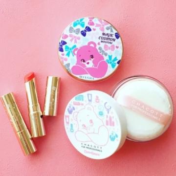 換上包裝!日本PLAZA & Care Bears 聯乘人氣化妝品