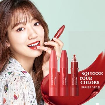 唧出來的唇膏!韓國Mamonde推出10色奶油唧唧唇液