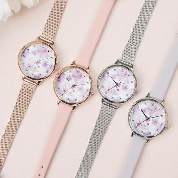 代表希望的桃花!韓國miniGOLD聯乘MARYMOND推出限量公益腕錶系列