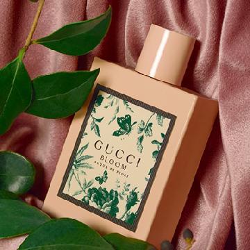 印上花卉及蝴蝶图案!GUCCI Bloom Acqua di Fior女士淡香氛