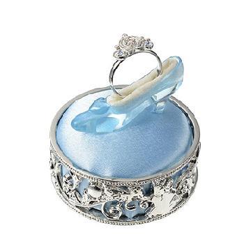 玻璃鞋戒指座!日本迪士尼推公主款戒指