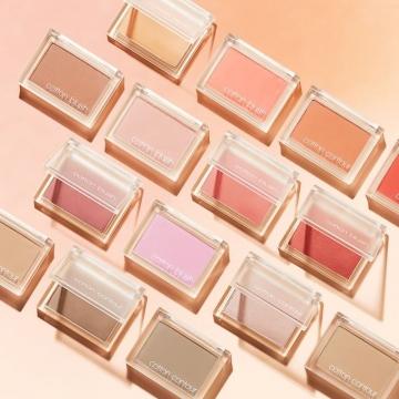 春日透明感胭脂!韩国MISSHA推出15色cotton blush胭脂+修容